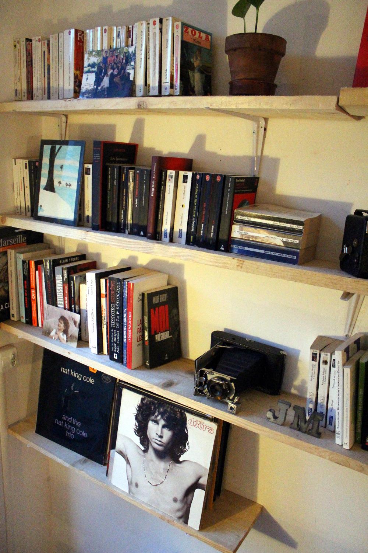 Une biblioth que sur mesure mariekke - Construire sa bibliotheque sur mesure ...