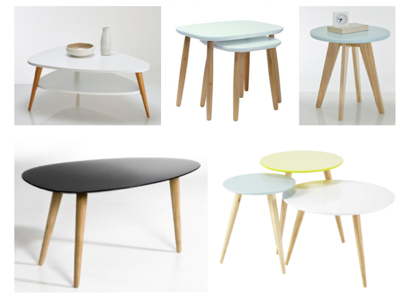 Shopping scandinave mariekke - Table basse de la maison ...