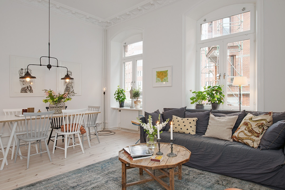 Appartement g teborg mariekke for Salle manger scandinave