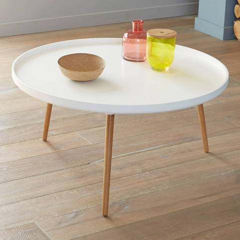 Shopping table basse mariekke - Table basse scandinave ronde ...