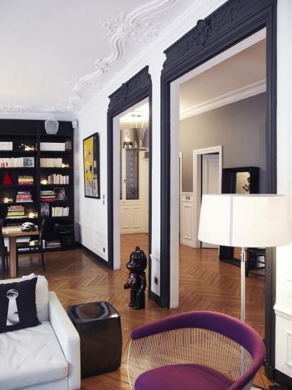 Des portes noires mariekke for Decoration porte noire