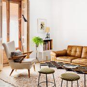 petit appartement à la décoration vintage