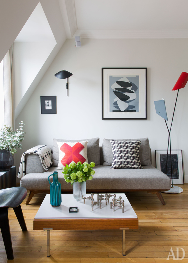 Super Un appartement sous les toits - Mariekke QP59