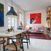 appartement scandinave et bohème