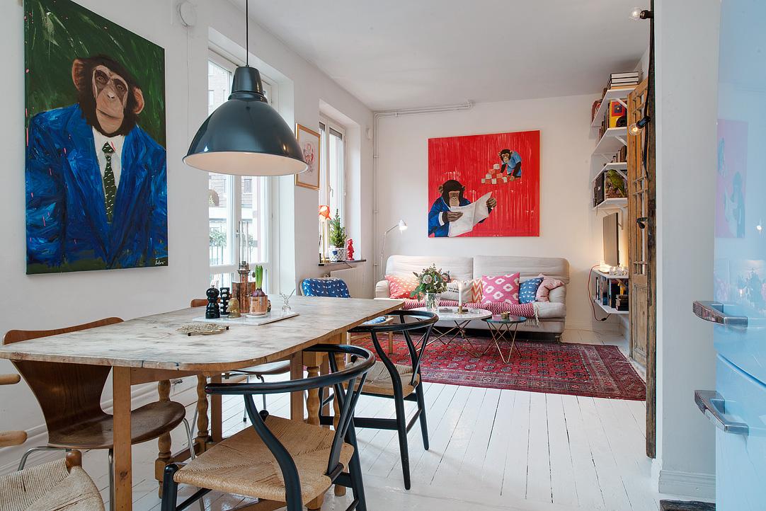 scandinave et boh me mariekke. Black Bedroom Furniture Sets. Home Design Ideas