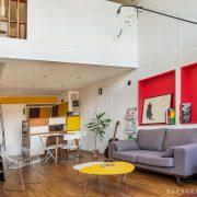 visite d'un appartement de la Cité Radieuse de Le Corbusier