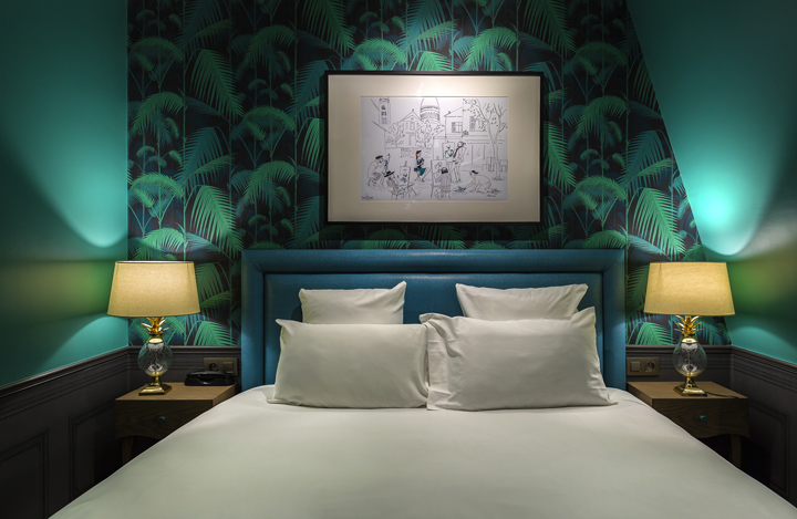 Emejing Chambre Couleur Vert Canard Contemporary - Design Trends ...