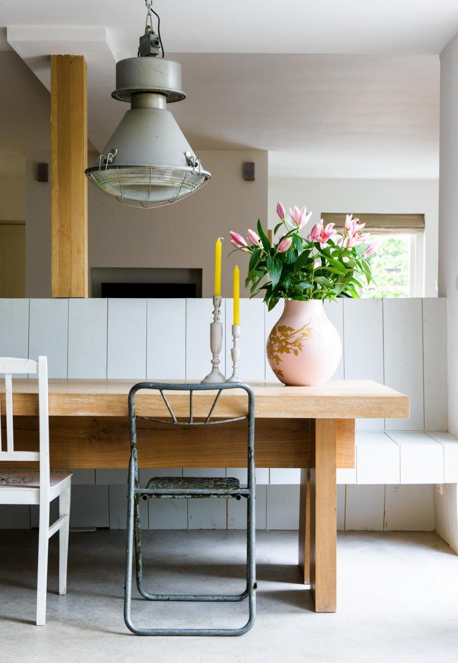 Une maison scandinave pep 39 sy mariekke - Eethoek in de keuken ...