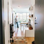 un petit appartement optimisé à l'arrivée du premier heureux événement