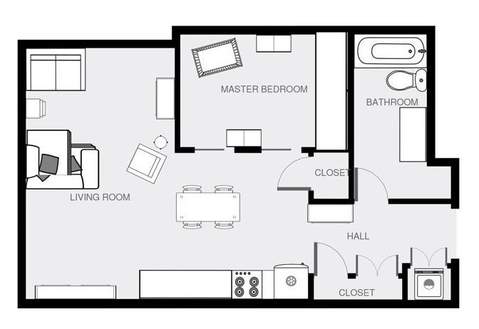 plan appartement optimisé