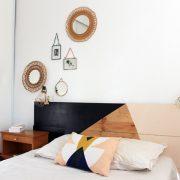 Notre chambre douce et graphique