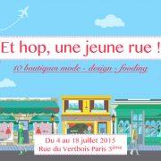 Hop Shop : Et hop, une jeune rue