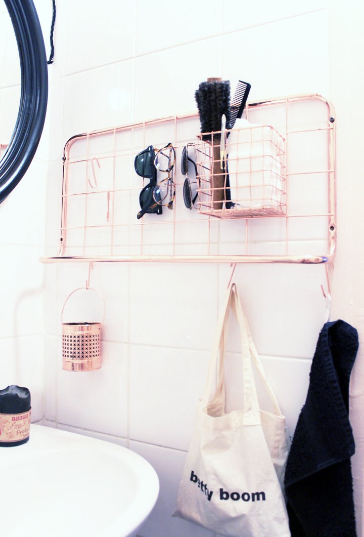 salle de bain noir et rose solutions pour la d coration
