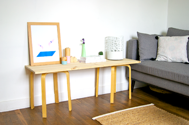 un banc mariekke. Black Bedroom Furniture Sets. Home Design Ideas