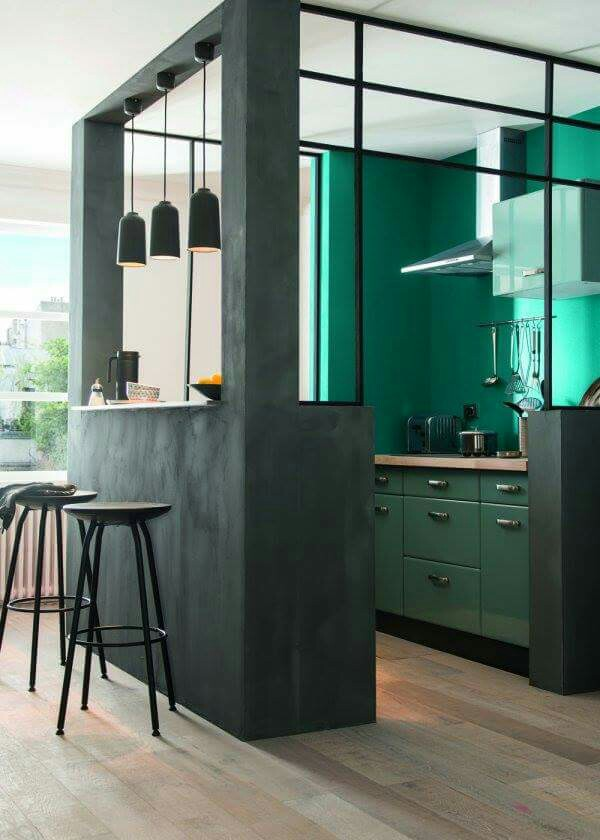 le vert meraude mariekke. Black Bedroom Furniture Sets. Home Design Ideas