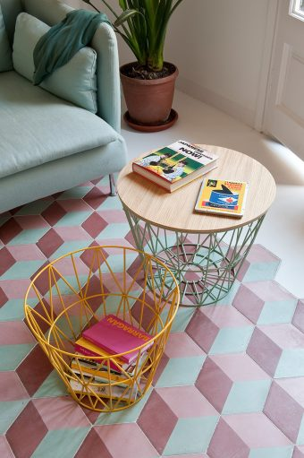 appartement art déco cosy et coloré