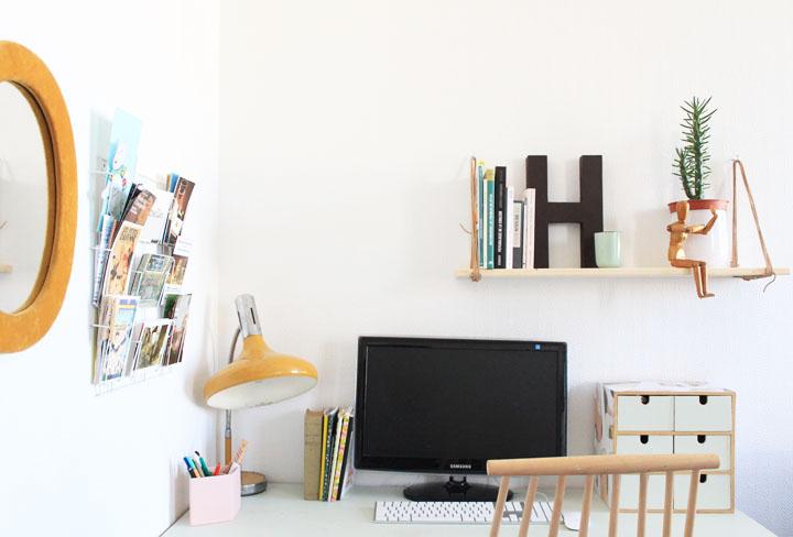 un joli bureau pour une nouvelle vie mariekke. Black Bedroom Furniture Sets. Home Design Ideas