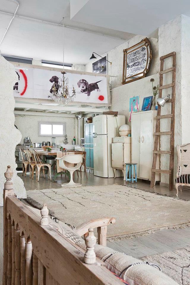 Un loft bohème et créatif - Mariekke