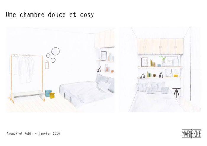 Comment transformer une chambre avec un petit budget ? Mariekke sur France5