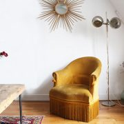 Le fauteuil crapaud
