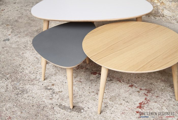 For me lab l 39 e artisanat sur mesure mariekke - Table basse scandinave gigogne ...