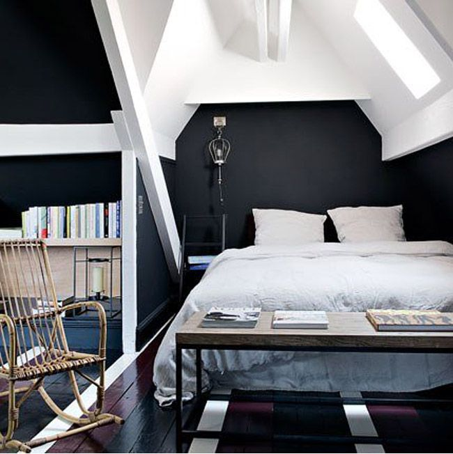 pi quid de la tendance d 39 un sol noir mariekke. Black Bedroom Furniture Sets. Home Design Ideas