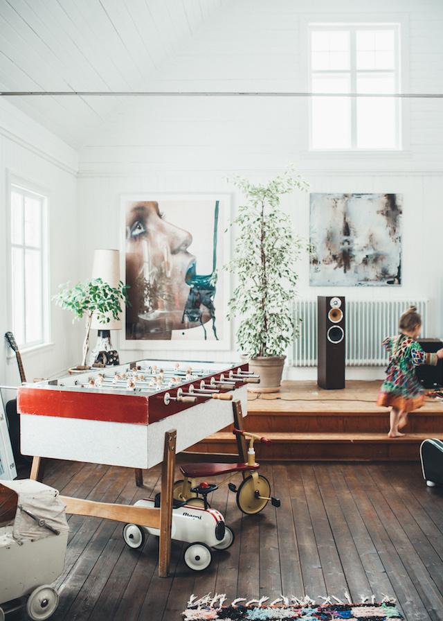 Un Interieur Boheme Scandinave Par Fait Mariekke