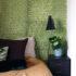 Ma nouvelle chambre, toute de vert vêtue